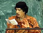 Kaddafi'den Kitapçık Şov