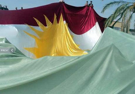 Kürdistan bayrağı için binler sokakta galerisi resim 15