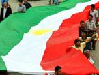 Kürdistan bayrağı için binler sokakta
