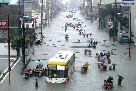 Filipinlerdeki Sel Felaketi galerisi resim 1