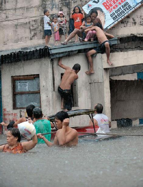 Filipinlerdeki Sel Felaketi galerisi resim 2