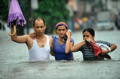 Filipinlerdeki Sel Felaketi galerisi resim 4