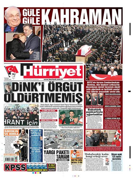 Manşetlerde Hrant Dink kararına tepki var galerisi resim 7
