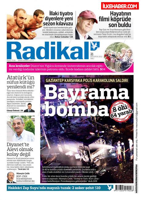 Gazetelerin bugünkü manşetleri galerisi resim 16