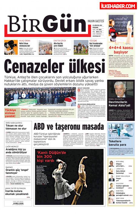 Günün öne çıkan gazete manşetleri galerisi resim 10