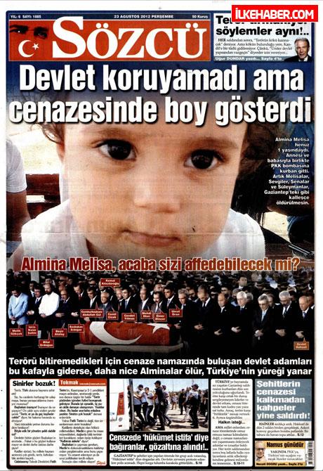 Günün öne çıkan gazete manşetleri galerisi resim 21