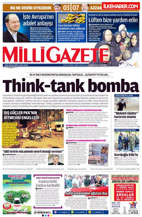 Gazetelerin bugünkü manşetleri galerisi resim 14