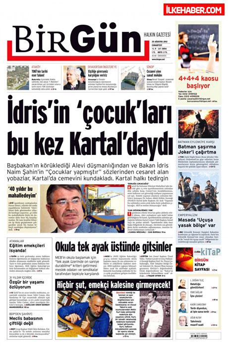Gazetelerin bugünkü manşetleri galerisi resim 5