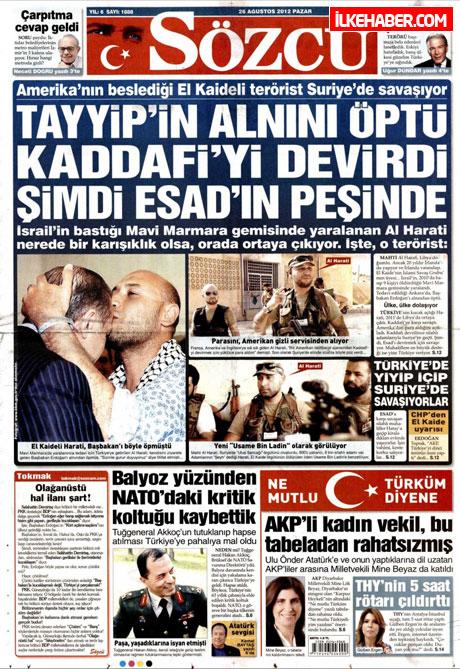 Gazetelerin bugünkü manşetleri ( 25/8) galerisi resim 19
