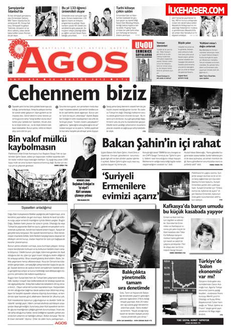 Gazetelerin bugünkü manşetleri ( 25/8) galerisi resim 4