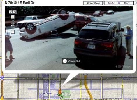Güvenlik Kameralarına Takılan Kazalar galerisi resim 2