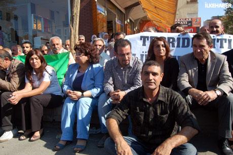 BDP'li Vekillere biber gazlı müdahale galerisi resim 19