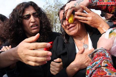 BDP'li vekillere biber gazlı polis müdahalesi! galerisi resim 18