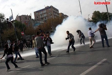 BDP'li vekillere biber gazlı polis müdahalesi! galerisi resim 5