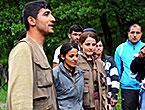 Dersim'de PKK'li grup sivilleri uyardı