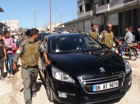BDP ve DTK heyeti Rojava'da galerisi resim 33