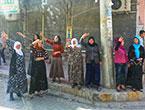 Nusaybin'de-Rojava'da duvar protesto edildi