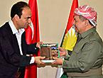 Barzani Diyarbakır Belediyesinde...