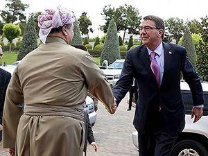 ABD Savunma Bakanı'nın Hewler ziyareti
