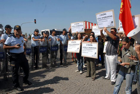 Başbakan'a Üniversite'de Protesto! galerisi resim 3