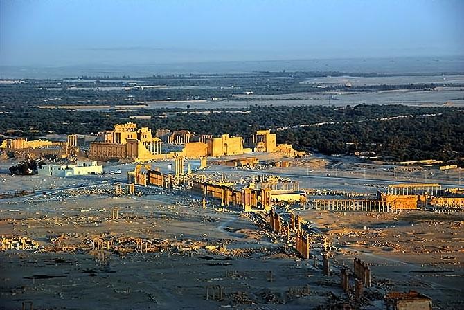 Fotoğraflarla Palmyra antik kenti galerisi resim 27