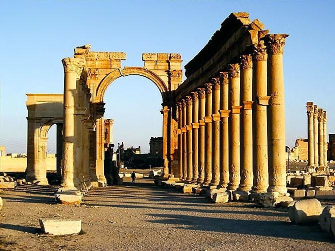 Fotoğraflarla Palmyra antik kenti galerisi resim 28