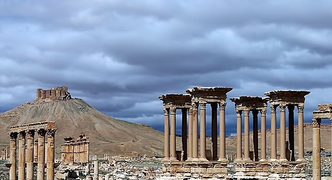 Fotoğraflarla Palmyra antik kenti galerisi resim 4
