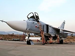 Rus jetlerinin IŞİD'i vurduğu üsten ilk görüntüler
