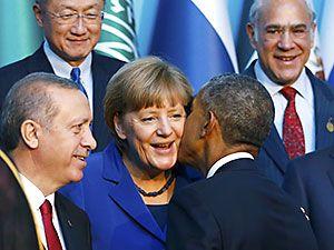 Reuters objektifinden Antalya'daki G-20 zirvesi