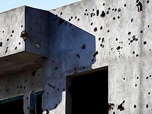 Çatışmalar sonrası Nusaybin'den çarpıcı kareler