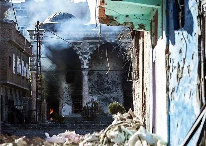 Fotoğraflarla Sur'da savaş görüntüleri! galerisi resim 8