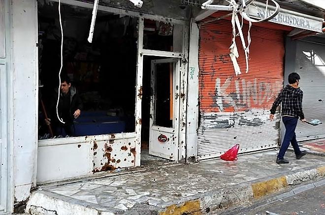 Silopi'den yıkım görüntüleri galerisi resim 1