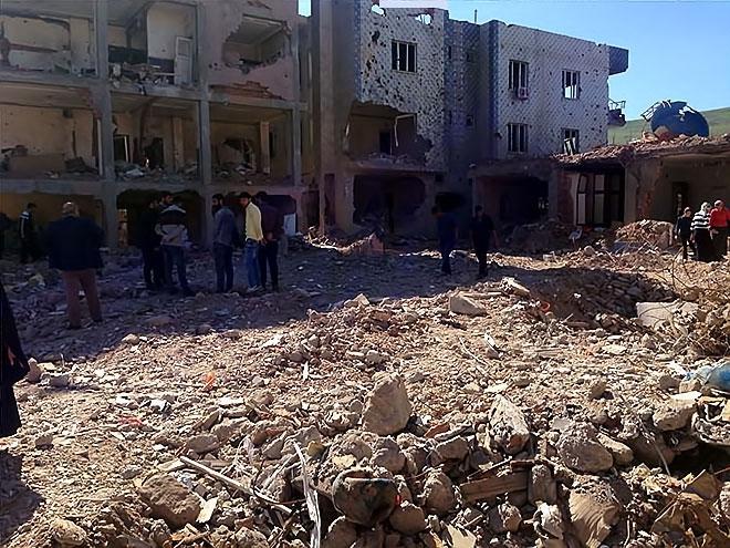 Fotoğraflarla Cizre'de yasak sonrası ilk gün galerisi resim 24