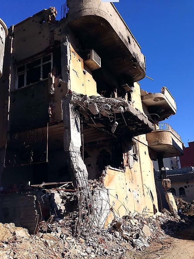 Fotoğraflarla Cizre'de yasak sonrası ilk gün galerisi resim 40