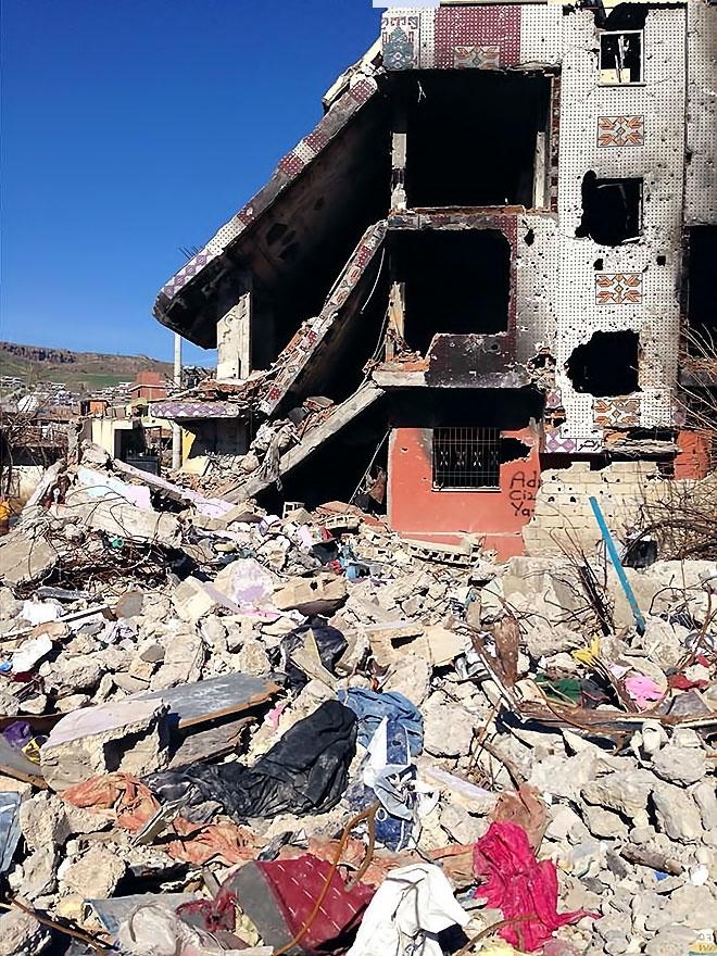 Fotoğraflarla Cizre'de yasak sonrası ilk gün galerisi resim 43