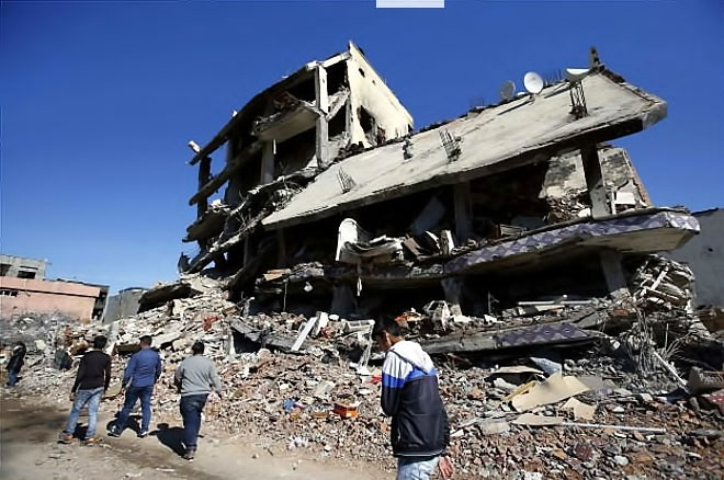 Fotoğraflarla Cizre'de yasak sonrası ilk gün galerisi resim 49