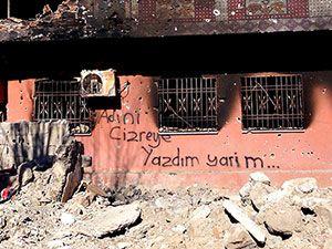 Fotoğraflarla Cizre'de yasak sonrası ilk gün