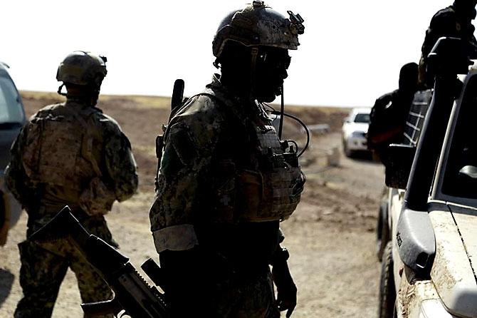 'YPG armalı' ABD askerleri galerisi resim 1