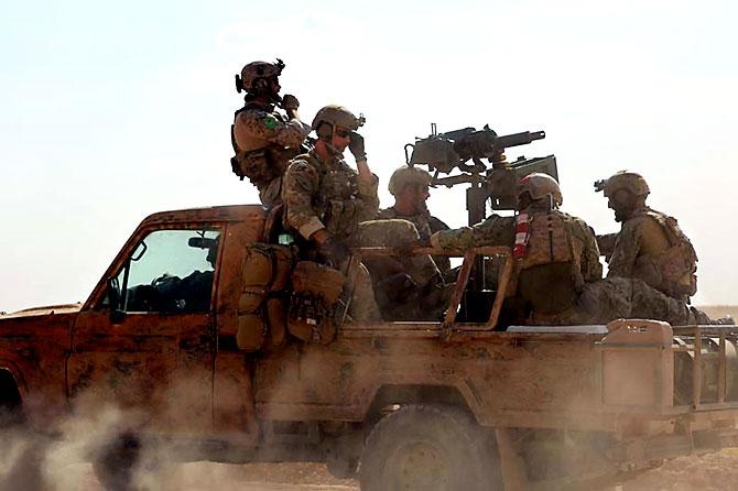 'YPG armalı' ABD askerleri galerisi resim 8