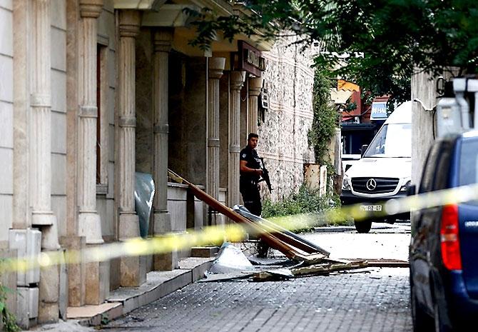 Fotoğraflarla: İstanbul Vezneciler'deki saldırı galerisi resim 8