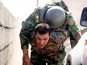 Guwer-Xazir operasyonunda Peşmerge..