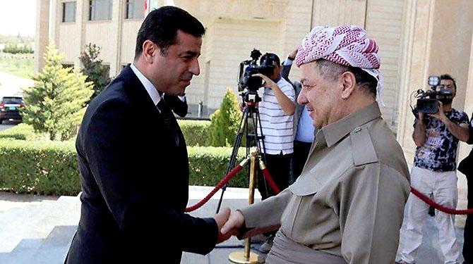 Fotoğraflarla HDP heyetinin Kürdistan ziyareti galerisi resim 1