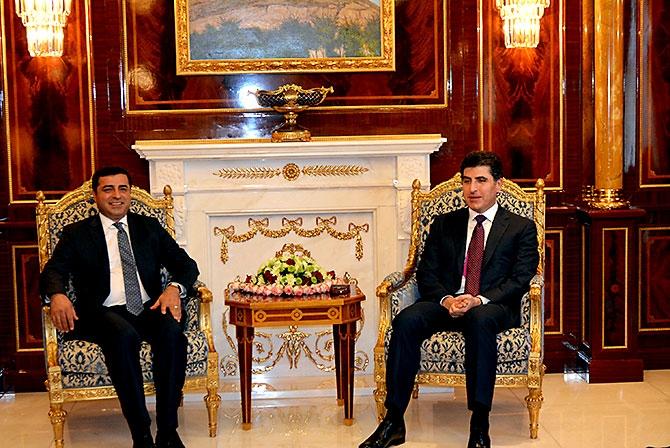Fotoğraflarla HDP heyetinin Kürdistan ziyareti galerisi resim 24