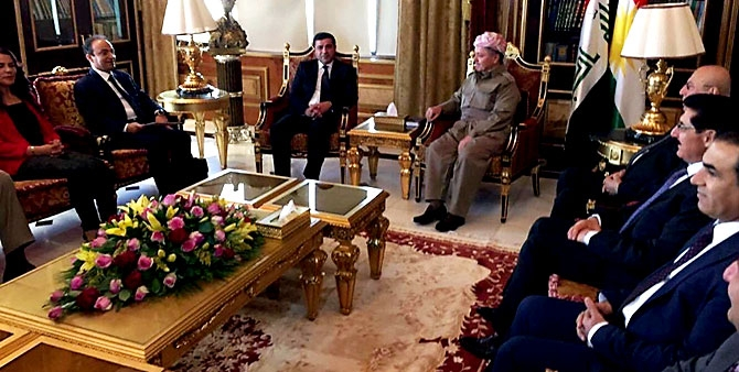 Fotoğraflarla HDP heyetinin Kürdistan ziyareti galerisi resim 3