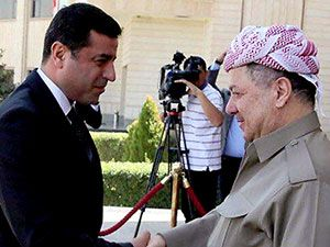 Fotoğraflarla HDP heyetinin Kürdistan ziyareti