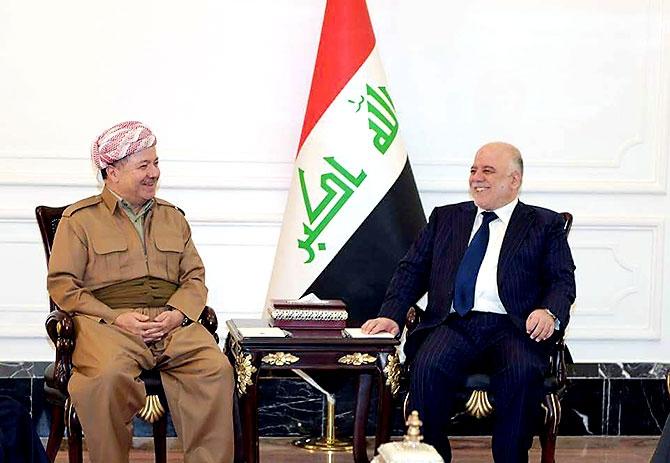 Fotoğraflarla Mesud Barzani'nin Bağdat ziyareti galerisi resim 1