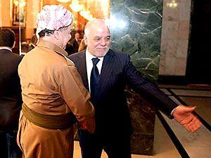 Fotoğraflarla Mesud Barzani'nin Bağdat ziyareti