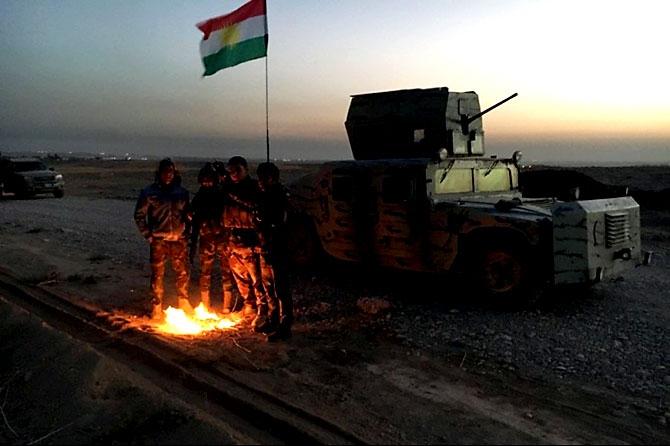 Fotoğraflarla Peşmerge'nin Musul Operasyonu galerisi resim 10
