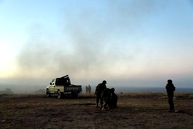 Fotoğraflarla Peşmerge'nin Musul Operasyonu galerisi resim 16