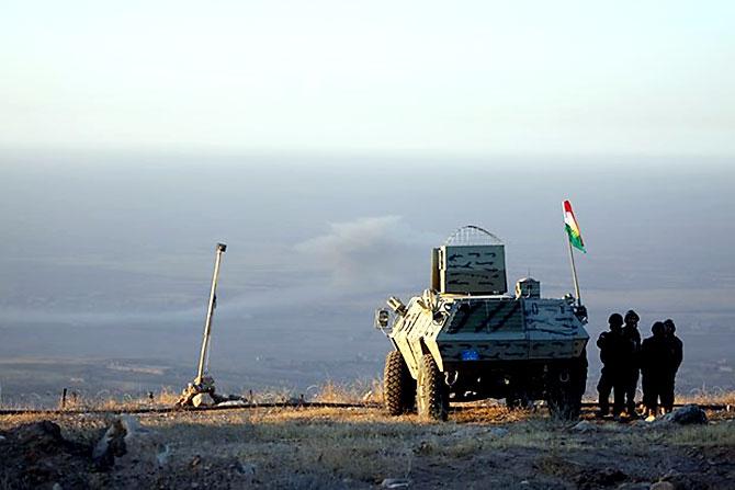 Fotoğraflarla Peşmerge'nin Musul Operasyonu galerisi resim 18